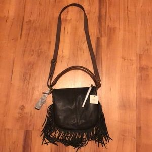Fossil leather purse / bag